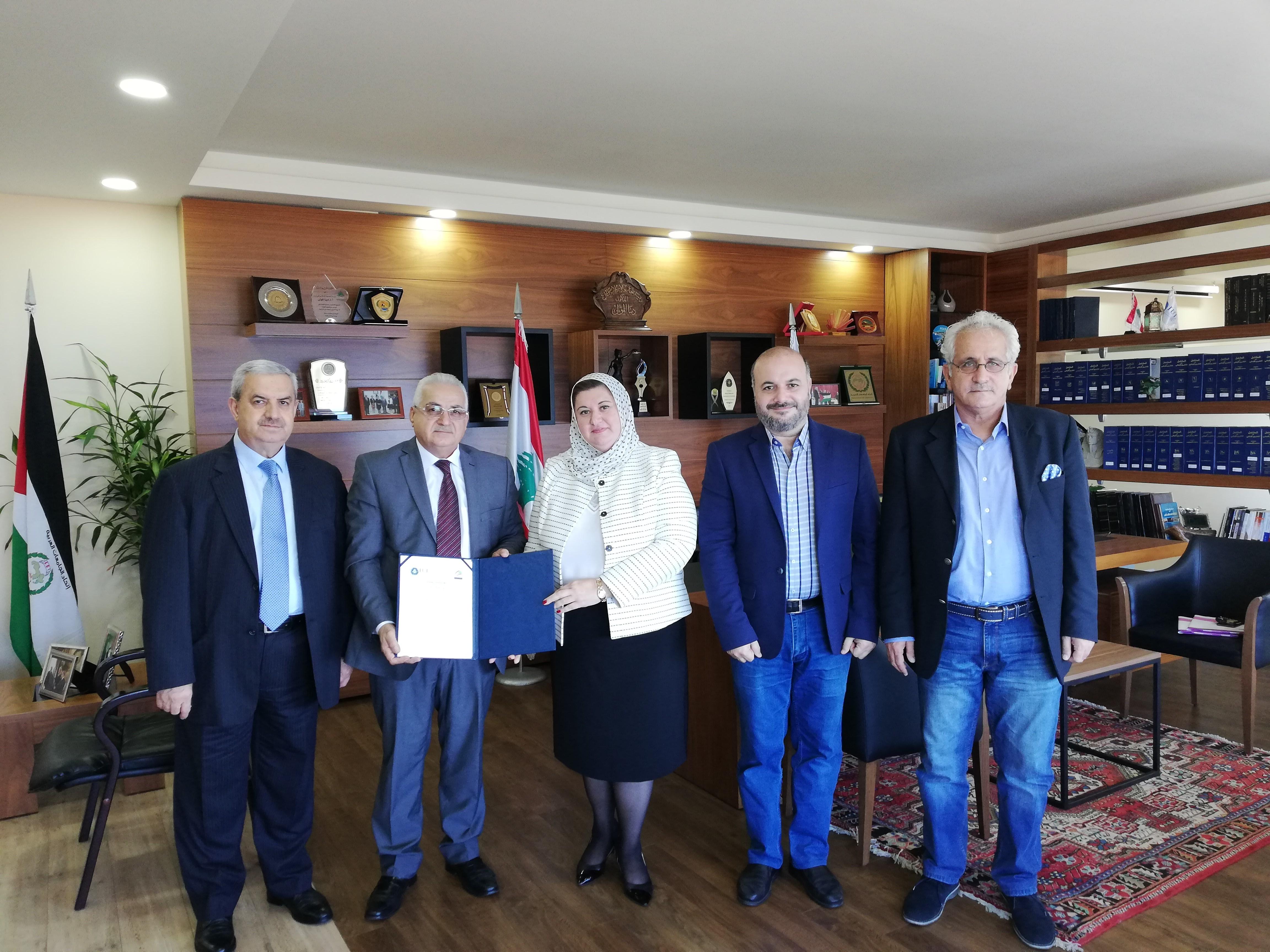 اتفاقية شراكة استراتيجية بين الجامعة الإسلامية في لبنان والهيئة الوطنية للعلوم والبحوث