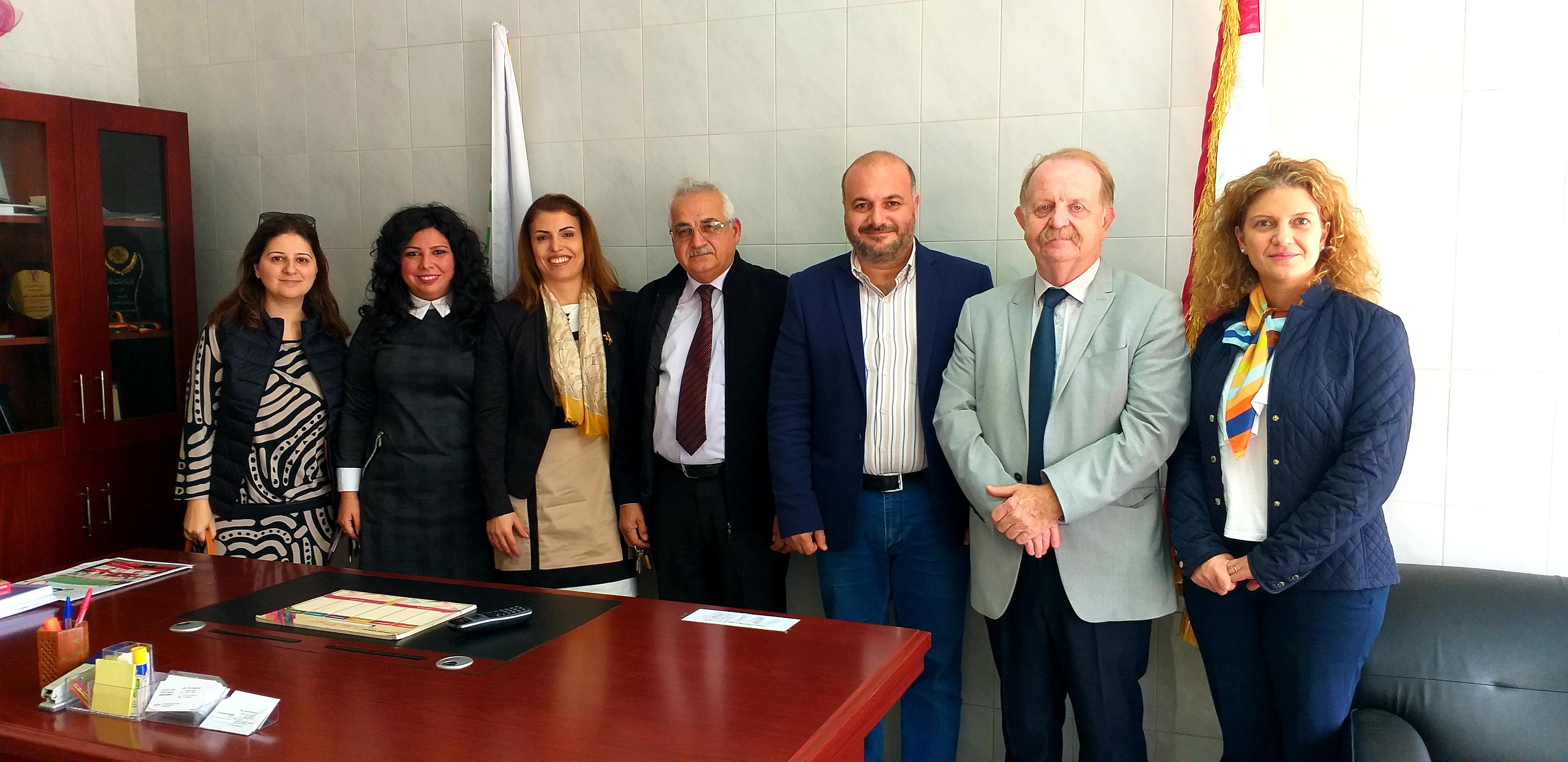 اجتماع عمل بين AUF والهيئة الوطنية للعلوم والبحوث
